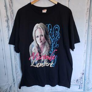 Tops - Miranda Lambert Platinum Tour 2014 Graphic T-Shirt